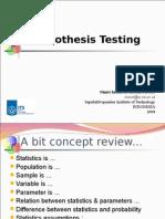Week 1_Hypothesis Testing (Wk 1)