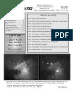 Bulletin d'information de La Société d'astronomie De