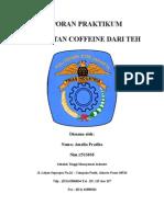 Pembuatan Coffein Dari Teh