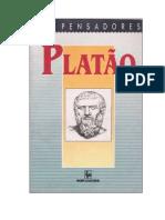 OS PENSADORES - Vol. 03 (1991). Platão-1