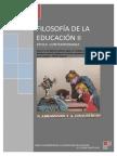 Antologia filosofia de la educación