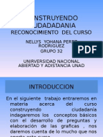 Contruyendo Ciudadania Diapositivas Reconocimiento