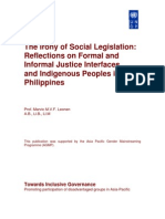 Irony of Social Legislation (Leonen) Copy