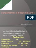 Clase Base de datos