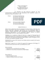 Form Realignment Budget 2009