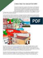 Curso Procesado De Datos Lidar Con Autocad Civil 3d®