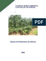 Guia Basica Para El Manejo Ambiental de Los Citricos