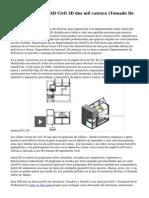 Des Instalar AutoCAD Civil 3D dos mil catorce (Tomado De Autodesk)