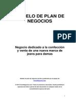 Modelo de Plan de Negocios