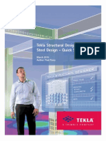 Tekla Structural Designer Quick Start Guide for Steel