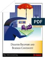 DisasterRecovery Syllabus Ec Council