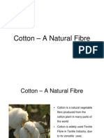 Cotton - A Natural Fibre