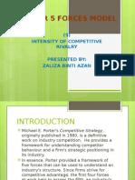 (Zaliza) Porter 5 Forces Model