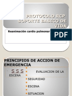 Protocolo Rcp Soporte Basico de Vida
