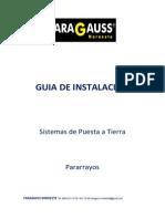 Guia de Instalación de sistema de tierra fisica Faragaus