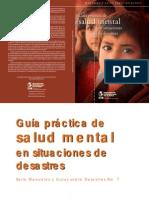 Guía Práctica de Salud Mental de la OMS