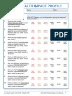 7b Oral Health Impact Profile