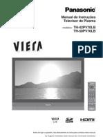 Manual de Instruções Televisor de Plasma