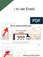 Rolando_Agdeppa Jr_ How to Use Ecwid