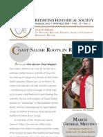 Redmond Historical Newsletter 03 2010