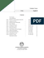 BA Program 1st,Year English (B) Compulsory Course