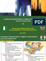 Investment Opportunities in Nigeria Oil and Gas Value Chain