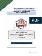 Guía Didáctica Griego Lectura Exégesis Ok