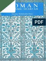 Woman in Islamic Shariah