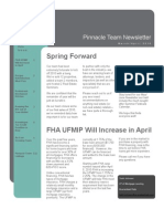 Pinnacle Team March/April 2010 Newsletter