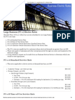 City of Glendale, CA - Large Business (PC-1) Electric Rates