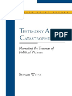 Testimony after Catastrophe_ Narrating the Traumas of Political Violence-Northwestern University Press (2006).pdf