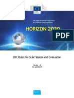 ERC Rules Submission Evaluation