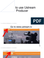 Rolando_Agdeppa Jr_ How to Use Ustream Producer