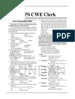 03.Practice Set Ibps Cwe Clerk-IV