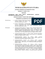 Pergub Kaltara No.01 Tahun 2013 Tentang Organisasi Dan Tata Kerja Sekretariat Daerah Provinsi Kalimantan Utara