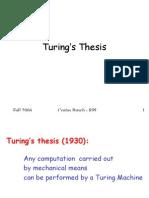 Turing Variations