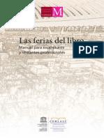 Las Ferias Del Libro Manual Para Expositores Unesco