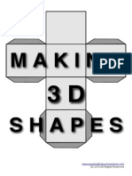 Making 3D Shapes