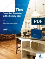 KPMG Enterprise Canadian Family Business Report