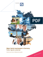 Major Family Businesses in Germany Fact Figures Potential