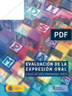 17evaluacion de La Expresion Oral.