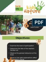 bsu presentation on kids 4 nature