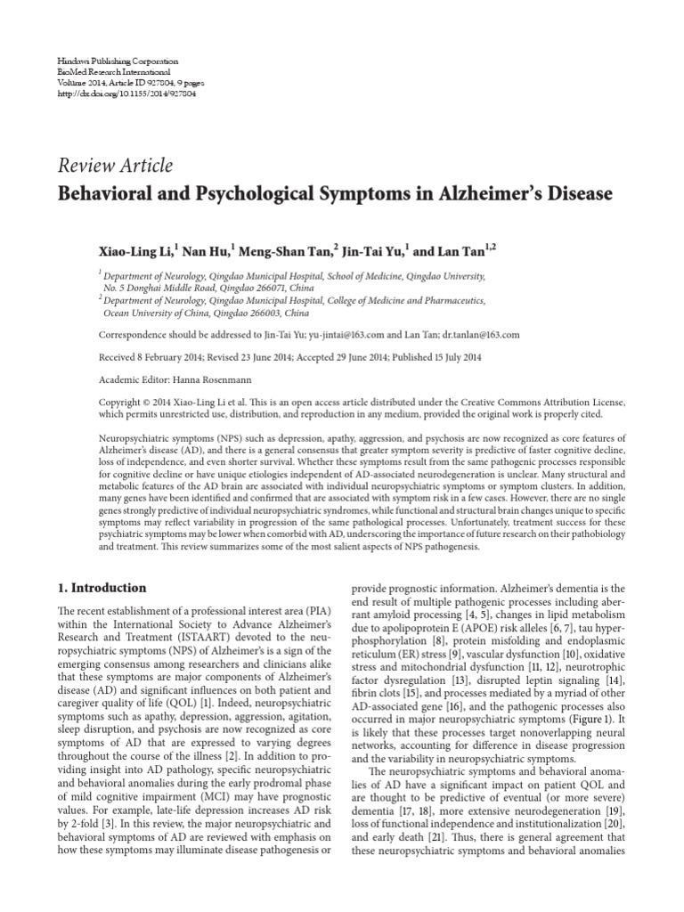 Hesi case study neurocognitive disorder due to alzheimers disease