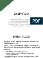 REFRAT DYSPHAGIA