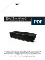 Bose Soundlink Mini 2-Manuale