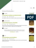 Recetas de Tarta de Platano - 51 Recetas Caseras - Cookpad