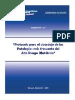 2-Protocolo de Alto Riesgo Menor Peso-rec 13 Mar 2012