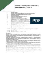 NSSM 42- Constructii Si Confectii Metalice