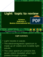 Light to review