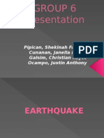 Group 6-Earthquake and Tsunami